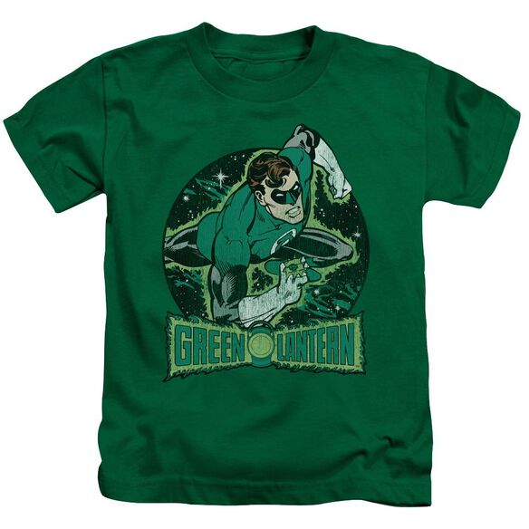 Dc In The Spotlight Short Sleeve Juvenile Kelly Green T-Shirt