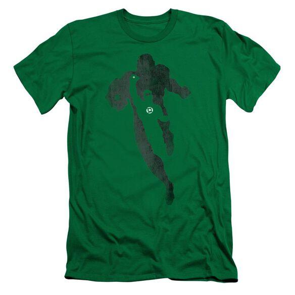 Dc Lantern Knockout Short Sleeve Adult Kelly T-Shirt