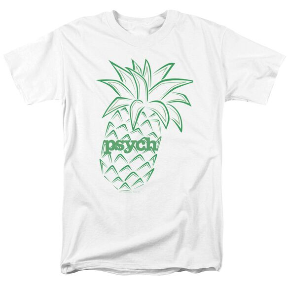 Psych Pineapple Short Sleeve Adult T-Shirt