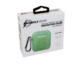 Mobile Gear Shock Proof Glitter Protective Cover for AirPods [Mint Green]