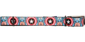 Captain America Face Mesh Belt