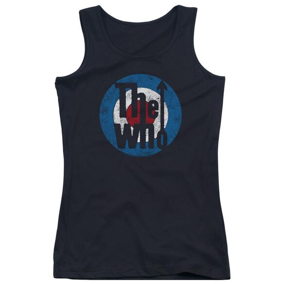 The Who Distressed Target Juniors Tank Top