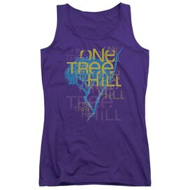 One Tree Hill Title Juniors Tank Top