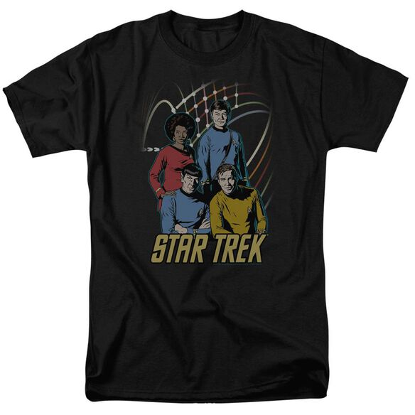 Star Trek Warp Factor 4 Short Sleeve Adult T-Shirt