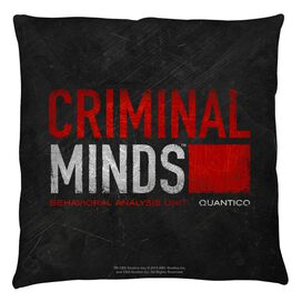 Criminal Minds Logo Throw