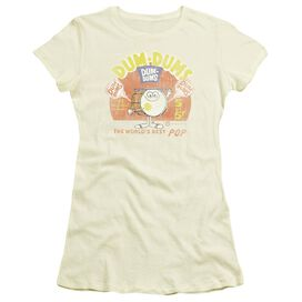 Dum Dums Best Pop Short Sleeve Junior Sheer T-Shirt