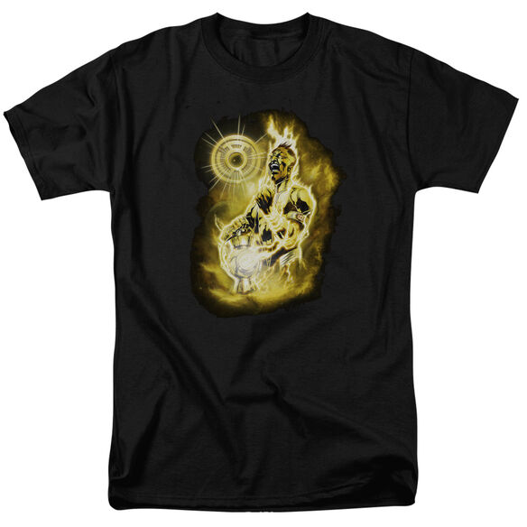 GREEN LANTERN SINESTRO NEBULA - S/S ADULT 18/1 - BLACK T-Shirt
