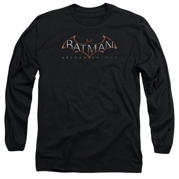 Batman Arkham Knight Logo Long Sleeve Adult T-Shirt