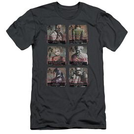 Arkham City Arkham Lineup Short Sleeve Adult T-Shirt