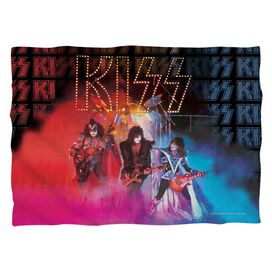 Kiss Stage Lights (Front Back Print) Pillow Case