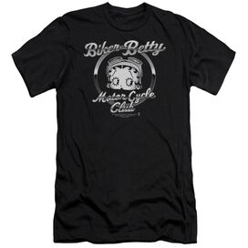 Betty Boop Chromed Logo Short Sleeve Adult T-Shirt