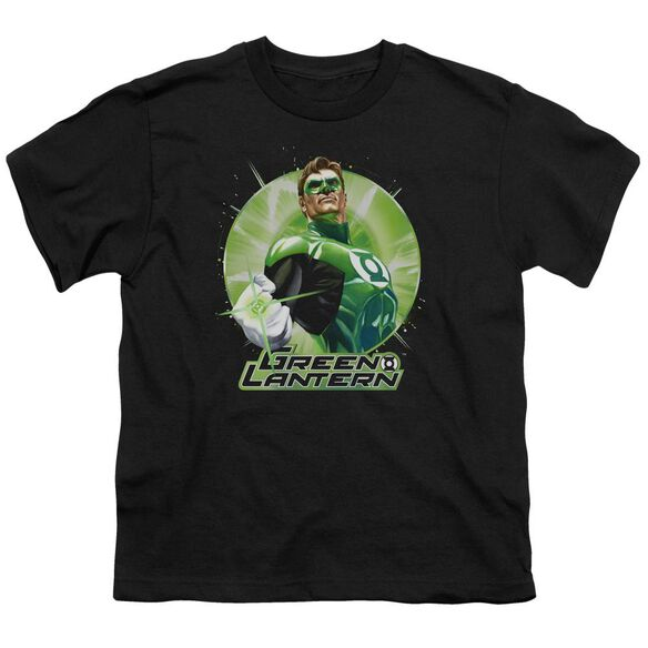 Jla Green Static Short Sleeve Youth T-Shirt