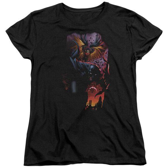Batman Batman & Robin #1 Short Sleeve Womens Tee T-Shirt