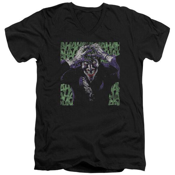 Batman Insanity Short Sleeve Adult V Neck T-Shirt