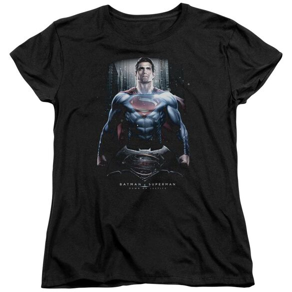 Batman V Superman Supe Ground Zero Short Sleeve Womens Tee T-Shirt