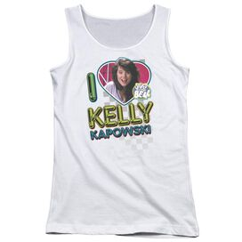 Saved By The Bell I Love Kelly Juniors Tank Top