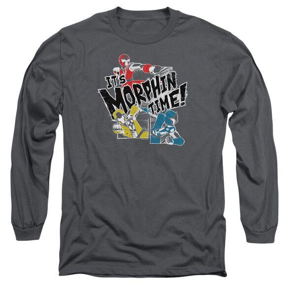 Power Rangers Panels Long Sleeve Adult T-Shirt