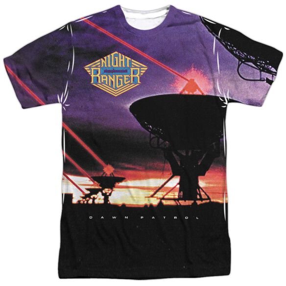 Night Ranger Dawn Patrol Short Sleeve Adult Poly Crew T-Shirt