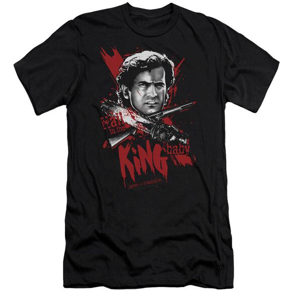 Army Of Darkness Hail To The King Premuim Canvas Adult Slim Fit