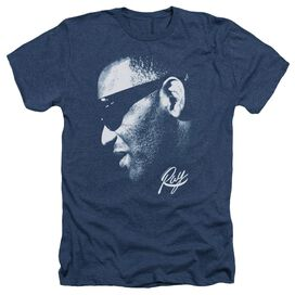RAY CHARLES BLUE RAY - ADULT HEATHER - NAVY