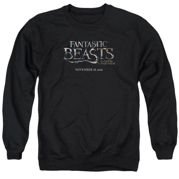 Fantastic Beasts Logo Adult Crewneck Sweatshirt