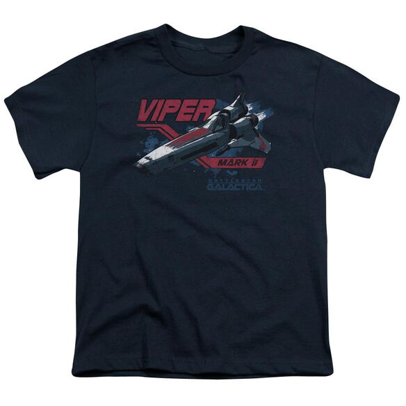BSG VIPER MARK II - S/S YOUTH 18/1 - NAVY T-Shirt