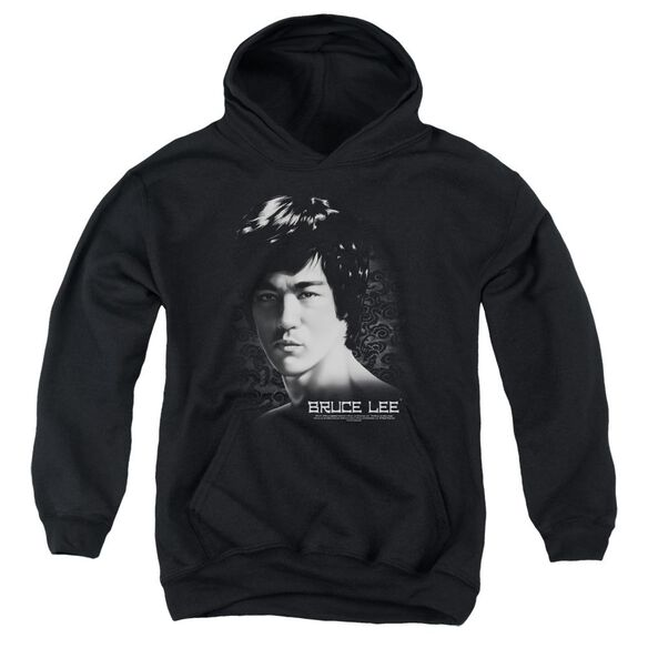 Bruce Lee In Your Face Youth Pull Over Hoodie