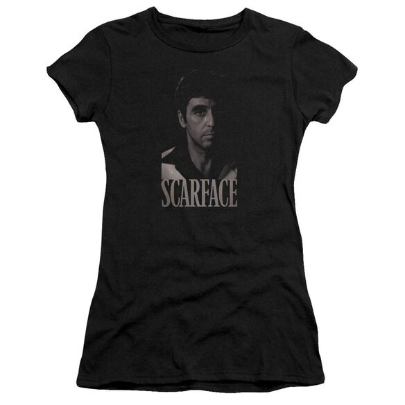 Scarface B&W Tony Premium Bella Junior Sheer Jersey