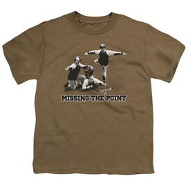 Three Stooges The Point Short Sleeve Youth Safari T-Shirt