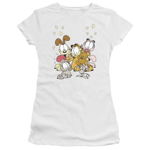 Garfield Friends Are Best Premium Bella Junior Sheer Jersey