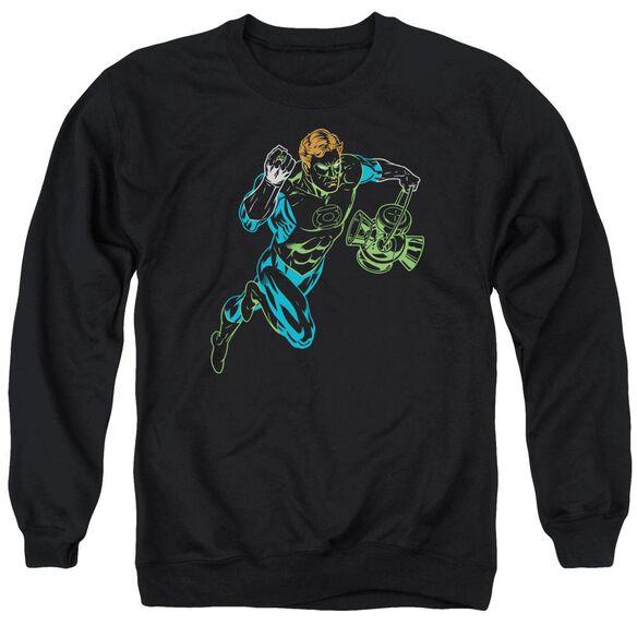 Gl Neon Lantern Adult Crewneck Sweatshirt