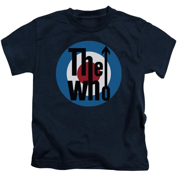 The Who Logo Short Sleeve Juvenile T-Shirt