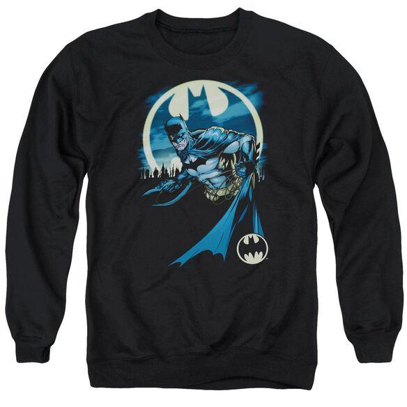 Batman Heed The Call Adult Crewneck Sweatshirt