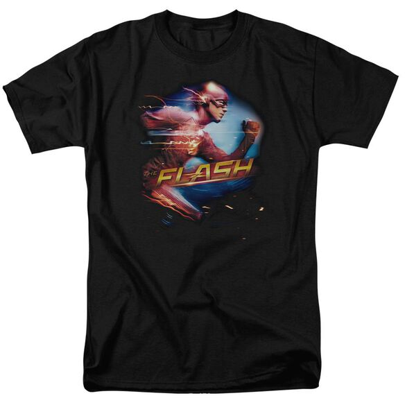 The Flash Fastest Man Short Sleeve Adult T-Shirt