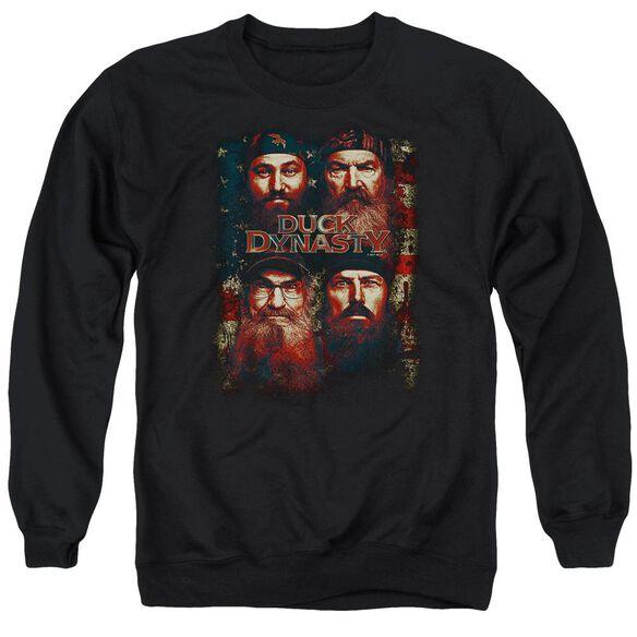 Duck Dynasty American Dynasty Adult Crewneck Sweatshirt