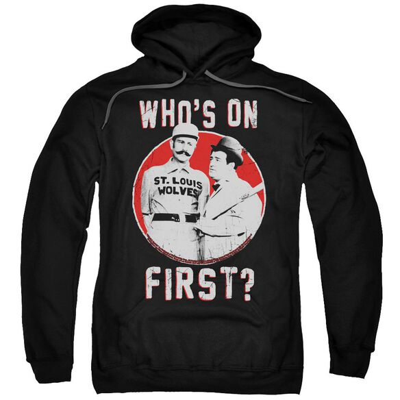 Abbott & Costello First Adult Pull Over Hoodie