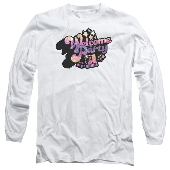 Studio 54 Welcome To The Party Long Sleeve Adult T-Shirt