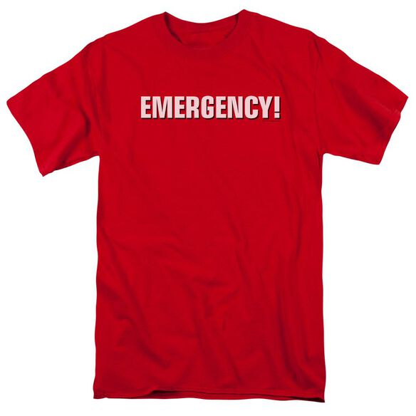 Emergency Logo Short Sleeve Adult T-Shirt