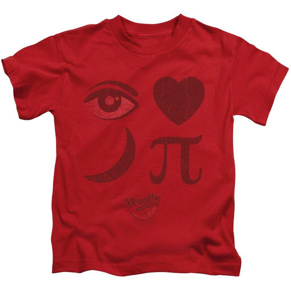 Moon Pie Eye Pie Short Sleeve Juvenile Red Md T-Shirt