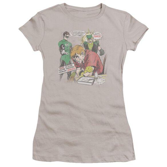 Green Lantern Speedy Junkie Premium Bella Junior Sheer Jersey