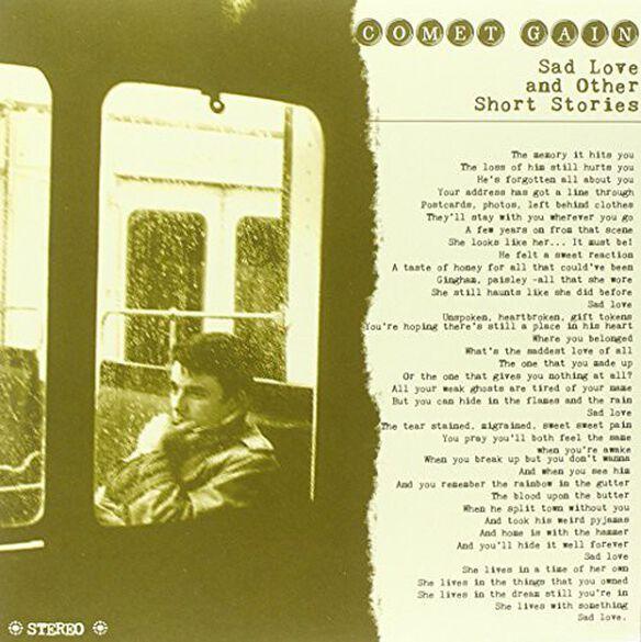 Comet Gain - Sad Love & Other Short Stories
