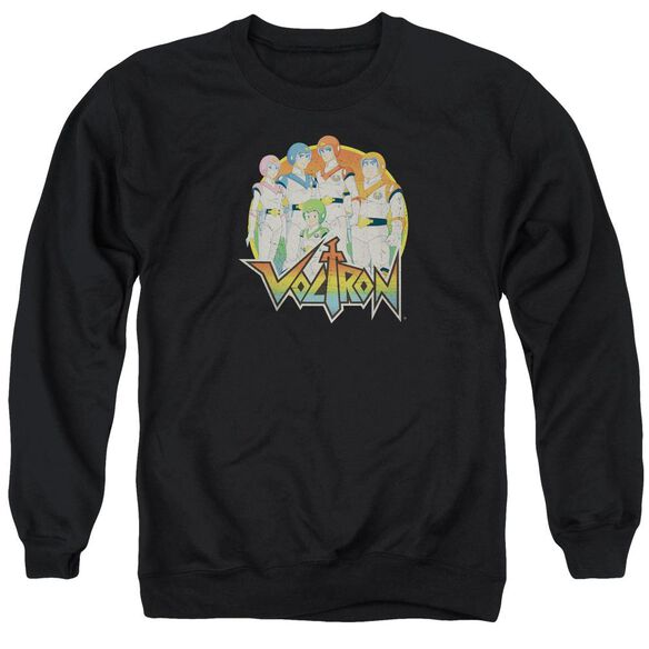 Voltron Group Adult Crewneck Sweatshirt