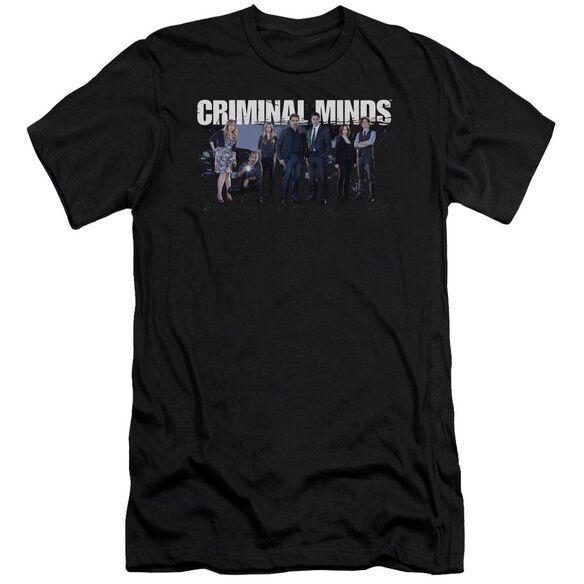Criminal Minds Season 10 Cast Premuim Canvas Adult Slim Fit