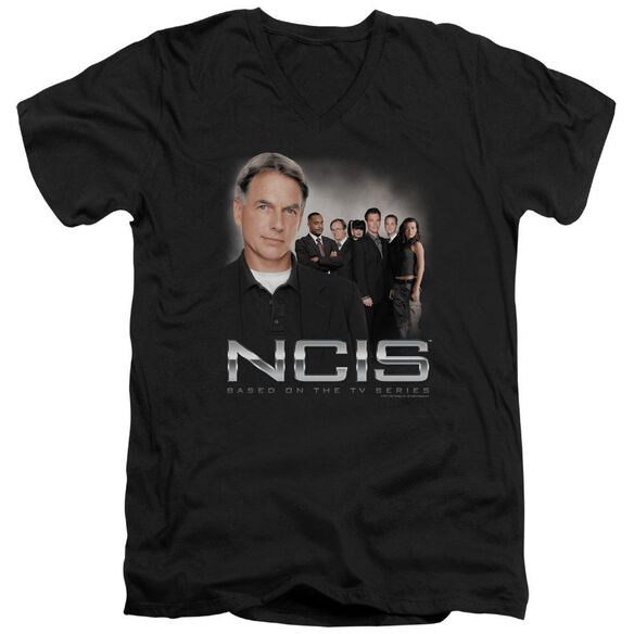Ncis Investigators Short Sleeve Adult V Neck T-Shirt