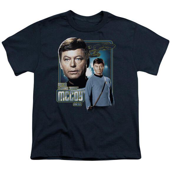 Star Trek Doctor Mccoy Short Sleeve Youth T-Shirt