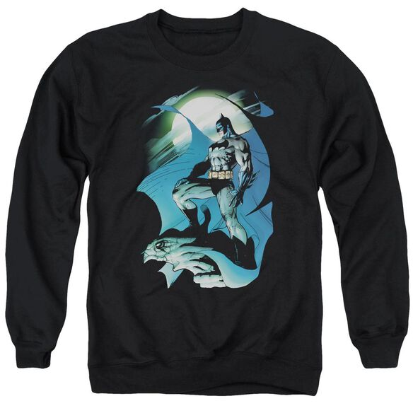 Batman Glow Of The Moon Adult Crewneck Sweatshirt