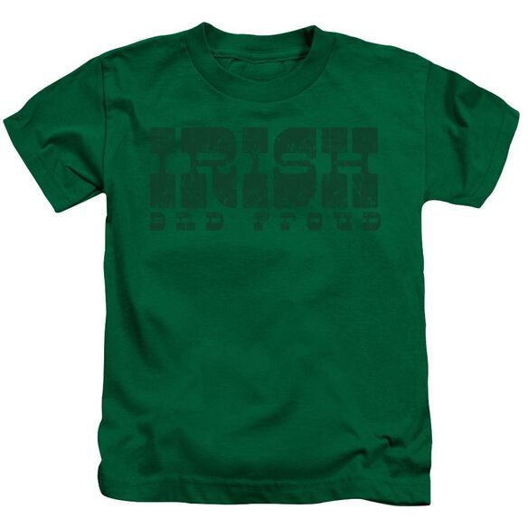 Irish And Proud Short Sleeve Juvenile Kelly T-Shirt