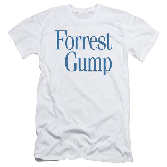 Forrest Gump Logo Short Sleeve Adult T-Shirt