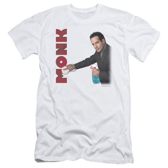 Monk Clean Up Short Sleeve Adult T-Shirt