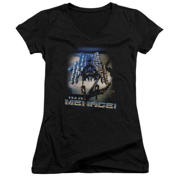 Sg1 Menace Junior V Neck T-Shirt